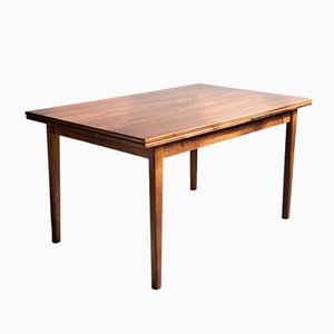 Mid-Century Danish Rosewood Extendable Dining Table