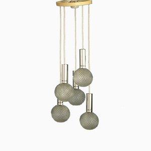 Kaskaden-Deckenlampe, 1960er