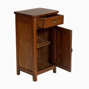Vintage Tyrolean Walnut Nightstand, 1920s