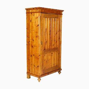 Credenza antica tirolese in legno d'abete
