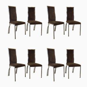 Chaises de Salon, 1970s, Set de 8