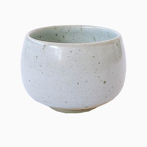 Stoneware Tea Bowl with Nuka Glaze by Marcello Dolcini, 2019