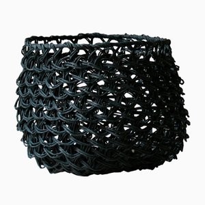 Medium Black Nutcase Basket by BEST BEFORE