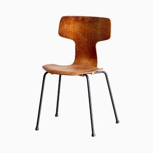 Silla modelo 3103 Hammer de Arne Jacobsen para Fritz Hansen, años 60