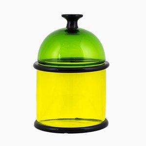 Faliera Vase von Ettore Sottsass für Vistosi, 1974