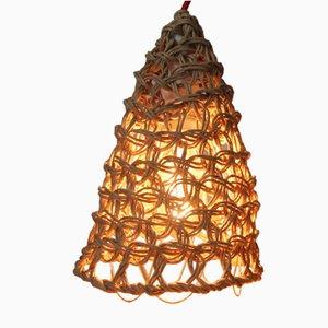 Lámpara de mesa Baladeuse de macramé en tono natural de BEST BEFORE