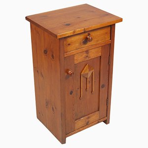 19th Century Rustic Nightstand