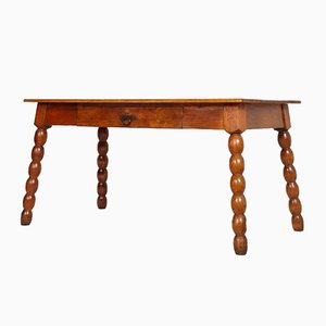 Tirolean Larch Dining Table, 1920s