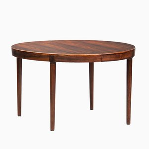 Mid-Century Modern Rosewood Dining Table by N.O. Møller for J.L. Mollers, 1960s