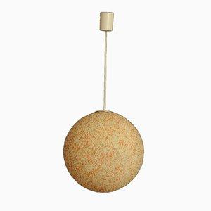 Lámpara colgante vintage esférica, años 60