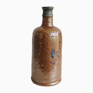 Vaso vintage in gres di Pierre Digan & Janet Stedman, anni '70