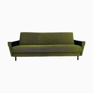 Mid-Century Green Corduroy Sofa, 1960s