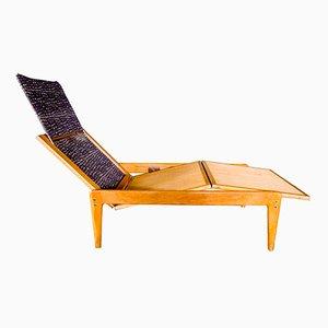 Schwedischer Vintage Siesta Liegestuhl von Yngve Ekström