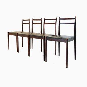Chaises d'Appoint Vintage, 1970s, Set de 4