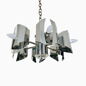 Mid-Century 6-Light Chandelier, 1960s