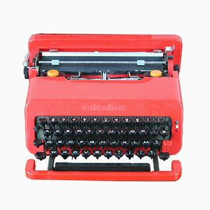 Red Portable Typewriter by Ettore Sottsass for Olivetti Synthesis, 1969