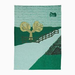Nr. 4 Memories of a Panorama Wandteppich von Kiki van Eijk & Joost van Bleiswijk für TextielLab Tilburg