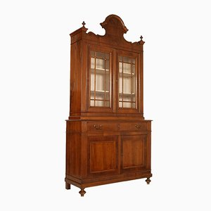 19th Century Louis XV Vitrine Cupboard