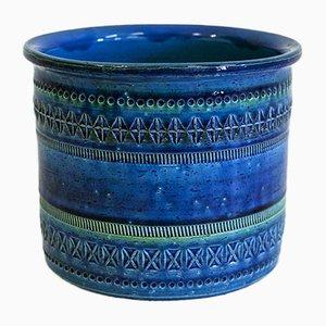 Italienischer Vintage Topf von Ceramiche Flavia