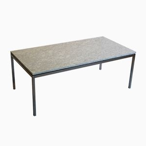 Vintage Marble & Chrome Coffee Table by Florence Knoll Bassett for Knoll International