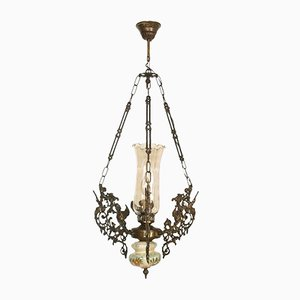 Lampadario Art Nouveau