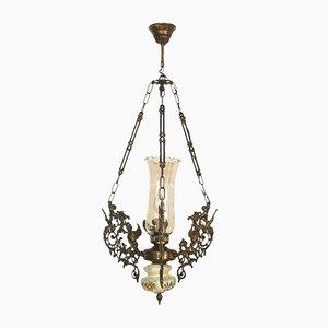 Lámpara de araña modernista