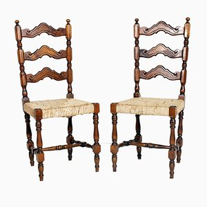 Dining Chairs from Dini & Puccini, 1950s, Set of 2