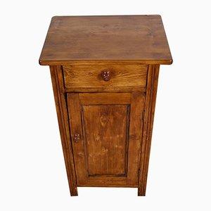 Antiker rustikaler Tiroler Nachttisch