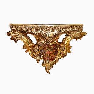 Consolle da parete barocca di Este Ceramiche Porcellane, Italia