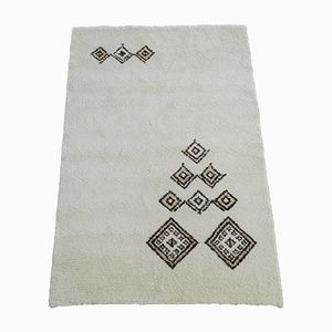 Alfombra marroquí vintage tejida a mano