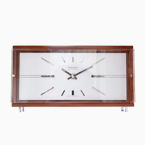 Reloj de mesa modernista de Kienzle, años 60