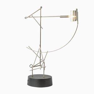 Lampe de Bureau Tinkeringlamps en Nickel Plaqué par Kiki Van Eijk & Joost Van Bleiswijk