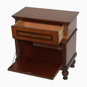 Mid-Century Renaissance Style Walnut & Mahogany Cabinet