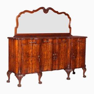 Credenza in stile barocco antica specchiata