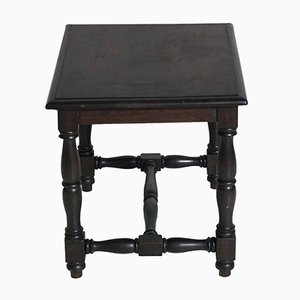 19th Century Tuscan Ebonized Walnut Center Table
