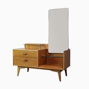 Cajonera Mid-Century con espejo de G-Plan, años 60