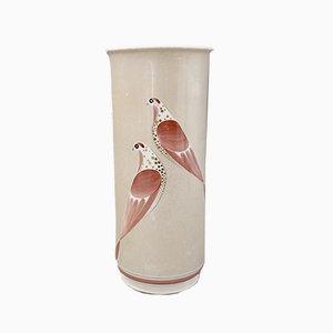 Vase Cylindrique par Marguerite Friedlaender & Charlotte Louise Koch pour KPM Berlin, 1950s