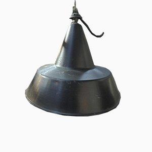 Industrielle Fabriklampe aus Metall