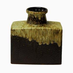 Vaso Fat Lava in ceramica a forma di bottiglia di Scheurich, anni '70