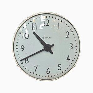 Elektrische Vintage Modell Simplex Uhr