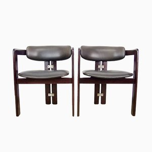 Mid-Century Pamplona Armchairs by Augusto Savini for Pozzi, Set of 2