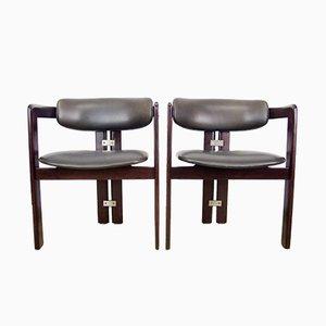 Mid-Century Pamplona Chairs von Augusto Savini für Pozzi, 2er Set