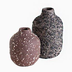 Kleine VIIE Vasen von Studio Berg, 2er Set