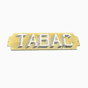 Vintage French Tabac Sign, 1930s