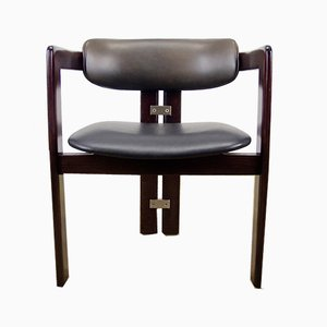 Dunkelgrüner Pamplona Chair von Augusto Savini für Pozzi, 1960er