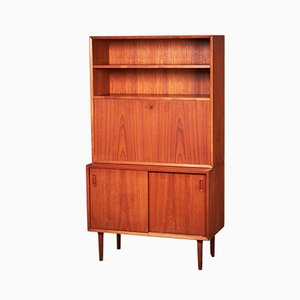 Danish Teak Drop-Front Secretaire from LYBY Møbler, 1960s