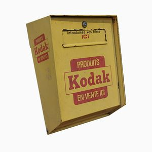Cassetta delle lettere KODAK vintage, anni '80