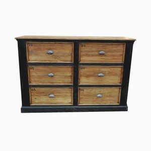 Mueble vintage de abeto, años 50