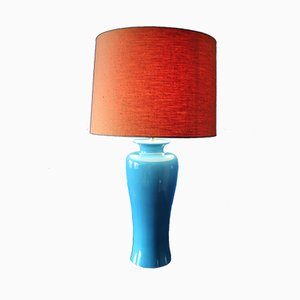 Ceramic Table Lamp by Tommaso Barbi, 1960s