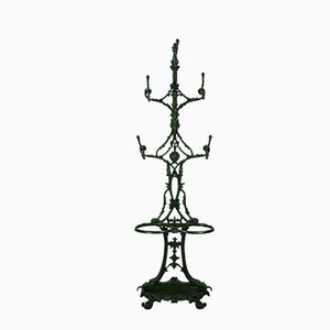 Antique Coat Rack by Alfred Corneau